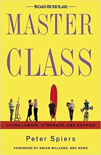 Book cover for Master Class, by Peter Spiers (2004)